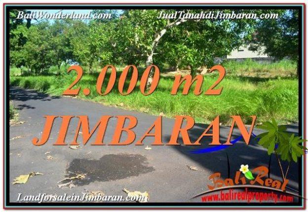 TANAH MURAH di JIMBARAN DIJUAL TJJI114