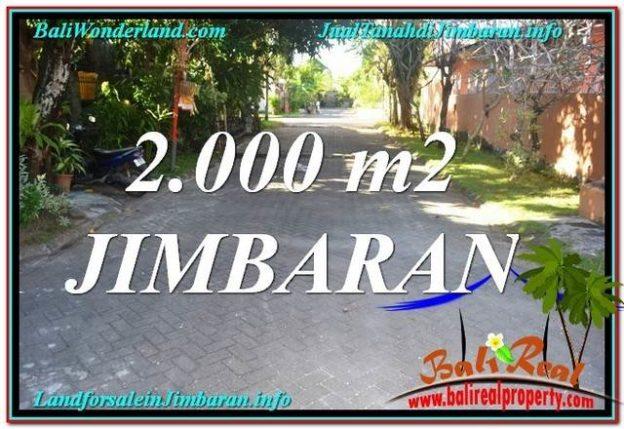 DIJUAL MURAH TANAH di JIMBARAN 20 Are di Jimbaran Uluwatu