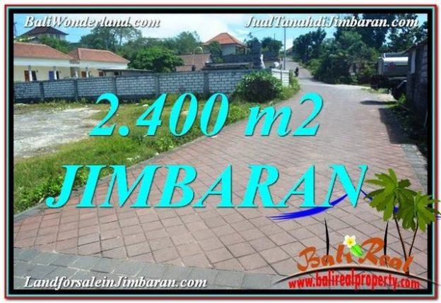 TANAH MURAH di JIMBARAN BALI DIJUAL 2,400 m2 Lingkungan Villa